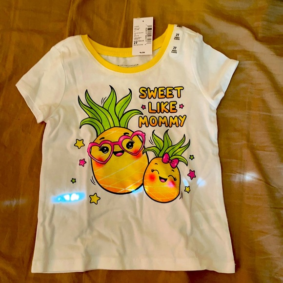 The Children's Place Sweet Like Mommy Pineapple